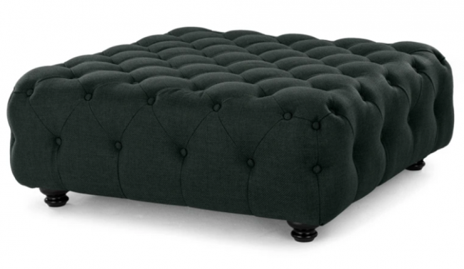 Charm Ottoman in Anthracite Grey