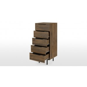 Emmerse Chest of Drawer in Walnut Colour