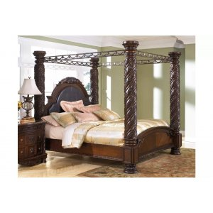 Bambory Teak Wood Queen Size Bed Without Storage