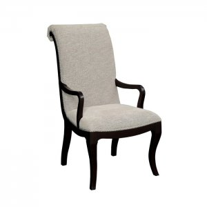 Gonzo Sheesham Wood Upholstered Dining Chair