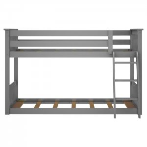 Huddle Marandi Wood Bunk Bed In Grey Colour