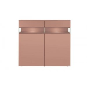 Empire Chest of Drawer in Peach Colour