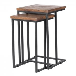 Divide 2 Piece Nesting Table