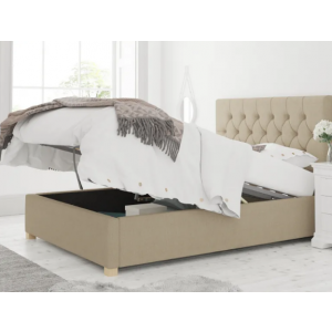 Yojal Upholstered Single Bed With Hydraulic Storage
