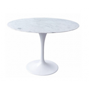 Serenity Round 4 Seater Dining Table with Marble Top