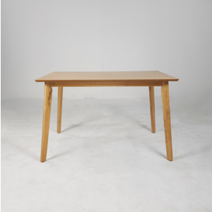 Belle 4 Seater Rubber Wood Dining Table with Chairs