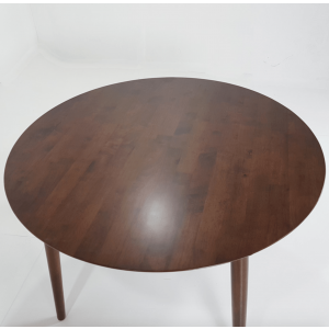 Everlast 4 Seater Rubber Wood Dining Table with Chairs