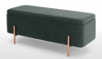 Sheild Storage Bench in Green Colour