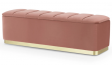 Persona Storage Bench in Pink Colour with Storage