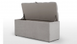 Chairverse Storage Bench in Grey Colour