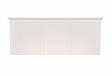 Pixxette Sheesham King Size Bed With Drawer Storage in White Colour