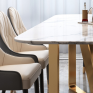 Essence Marble Top 6 Seater Dining Table