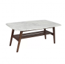 Monk Center Table with Marble Top