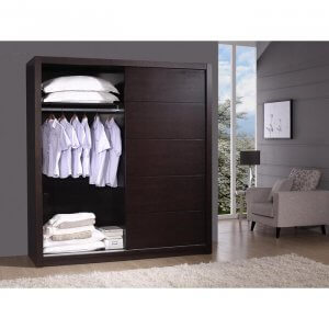 Patch Wardrobe In Wenge Finish