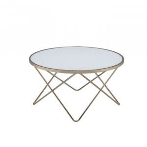Rush Coffee Table in Gold