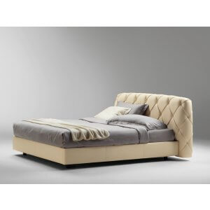 Zoom King Size Upholstered Bed Without Storage