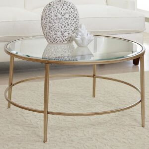 Approach Coffee Table in Gold Colour