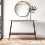 Puriance Console Table with Onyx Top