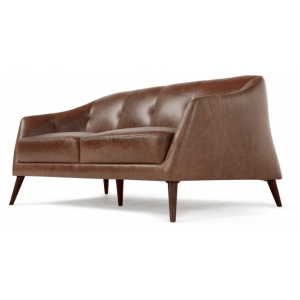 Evada 2 Seater Sofa, Antique Cognac Leather