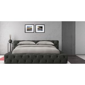 Harmony King Size Upholstered Bed Without Storage