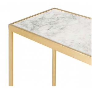 Ven Console Table With Marble Top