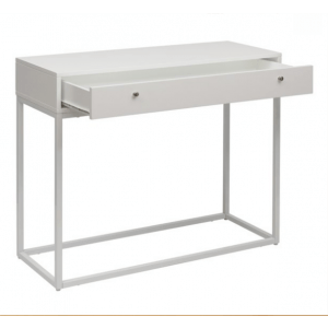 Thae Console Table, White