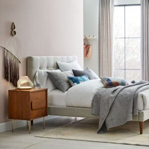 Cocepto King Size Upholstered Bed Without Storage