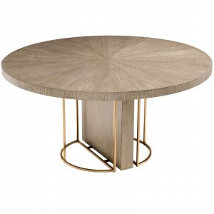 Delicate 4 Seater Dining Table With Golden Base