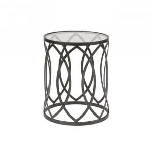 Grop End Table in Black Colour