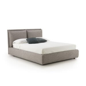Resspro King Size Upholstered Bed With Hydraulic Storage