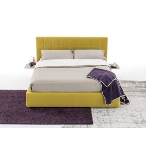 Gelan Queen Size Upholstered Bed With Hydraulic Storage