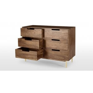 Fath Chest of Drawer in Mango Wood Finish