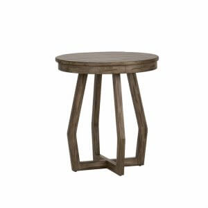 Tolbo Wooden End Table