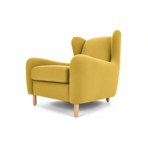 Bens Wingback Armchair, Light Moss Green