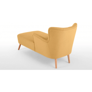 Ley Right Hand Facing Chaise, Yolk Yellow