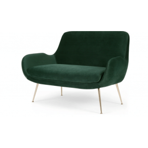 Entangle 2 Seater Sofa in Green Colour