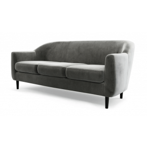 Properl 3 Seater Sofa in Steel Grey Colour