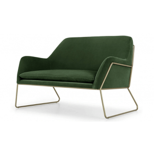 Alchemy 2 Seater Sofa in Green Color