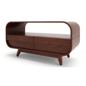 Alive Display Unit in Walnut Finish