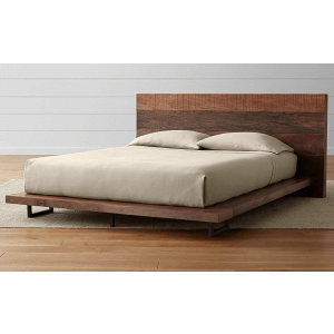Hersuper Mango Wood Queen Size Bed Without Storage