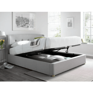 Rill King Size Upholstered Bed With Hydraulic Storage