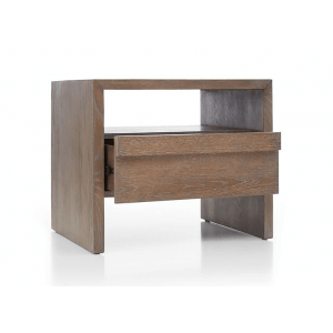 Piper Bedside Table in Natural Finish