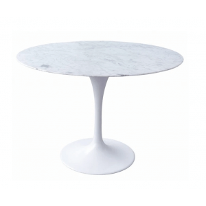 Serenity Round 6 Seater Dining Table with Marble Top