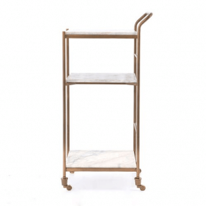 Cabare Metal Serving Trolley