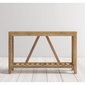 AFTR Teak Wood Console Table