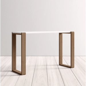 Loti White Top Console Table
