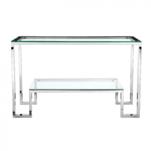 Clexy Glass Console Table