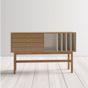 Hlux Console Table with Storage