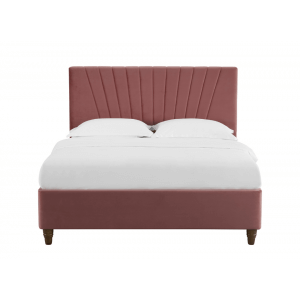 Pragma Queen Size Upholstered Bed Without Storage