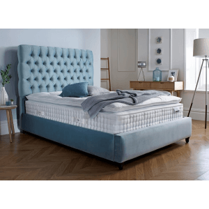Equi King Size Uphostered Bed Without Storage